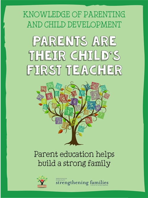 Parents are their child's first teacher.